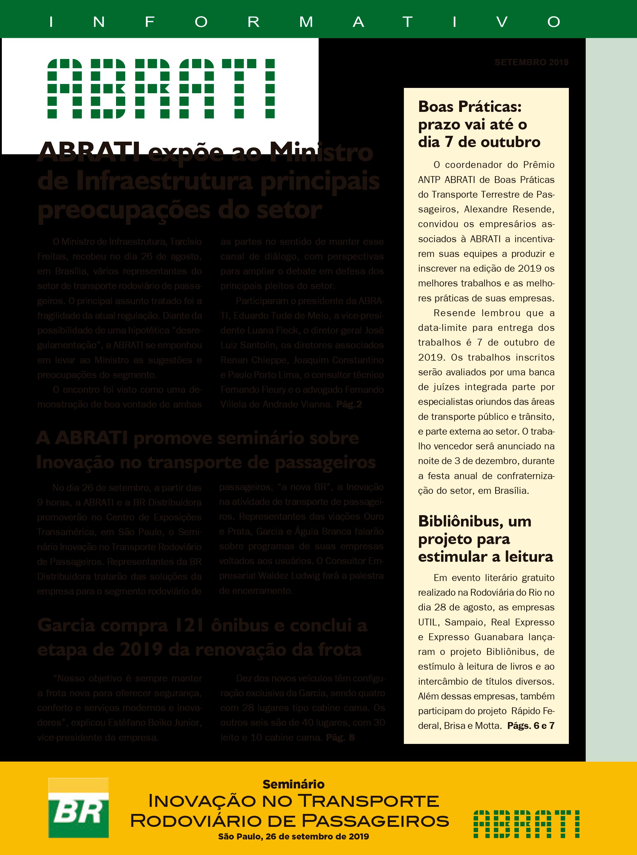 Informativo Setembro 2019