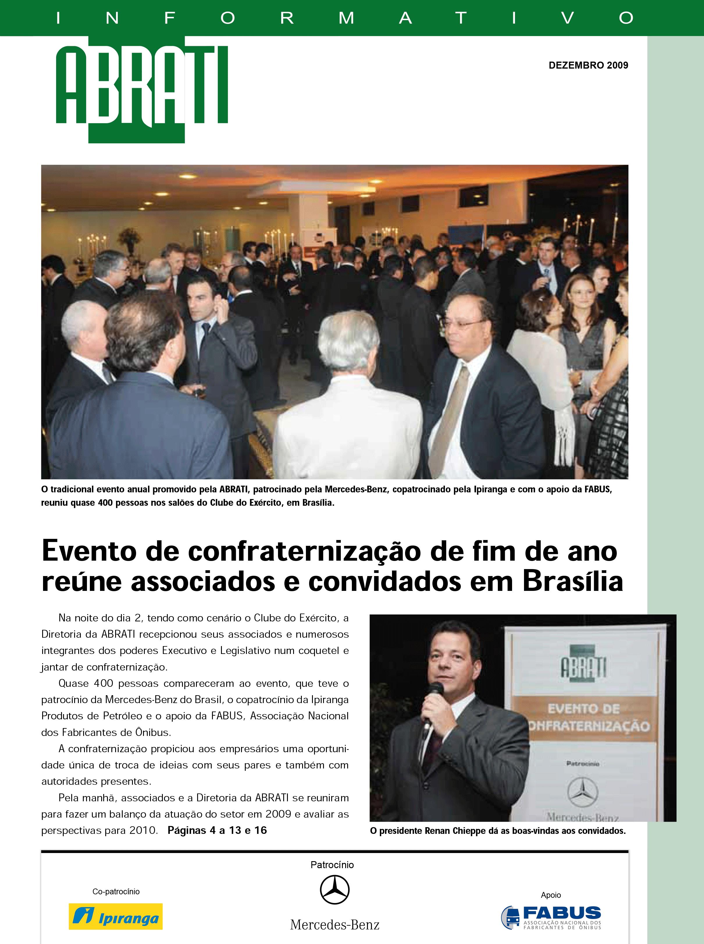 Informativo Dezembro 2009