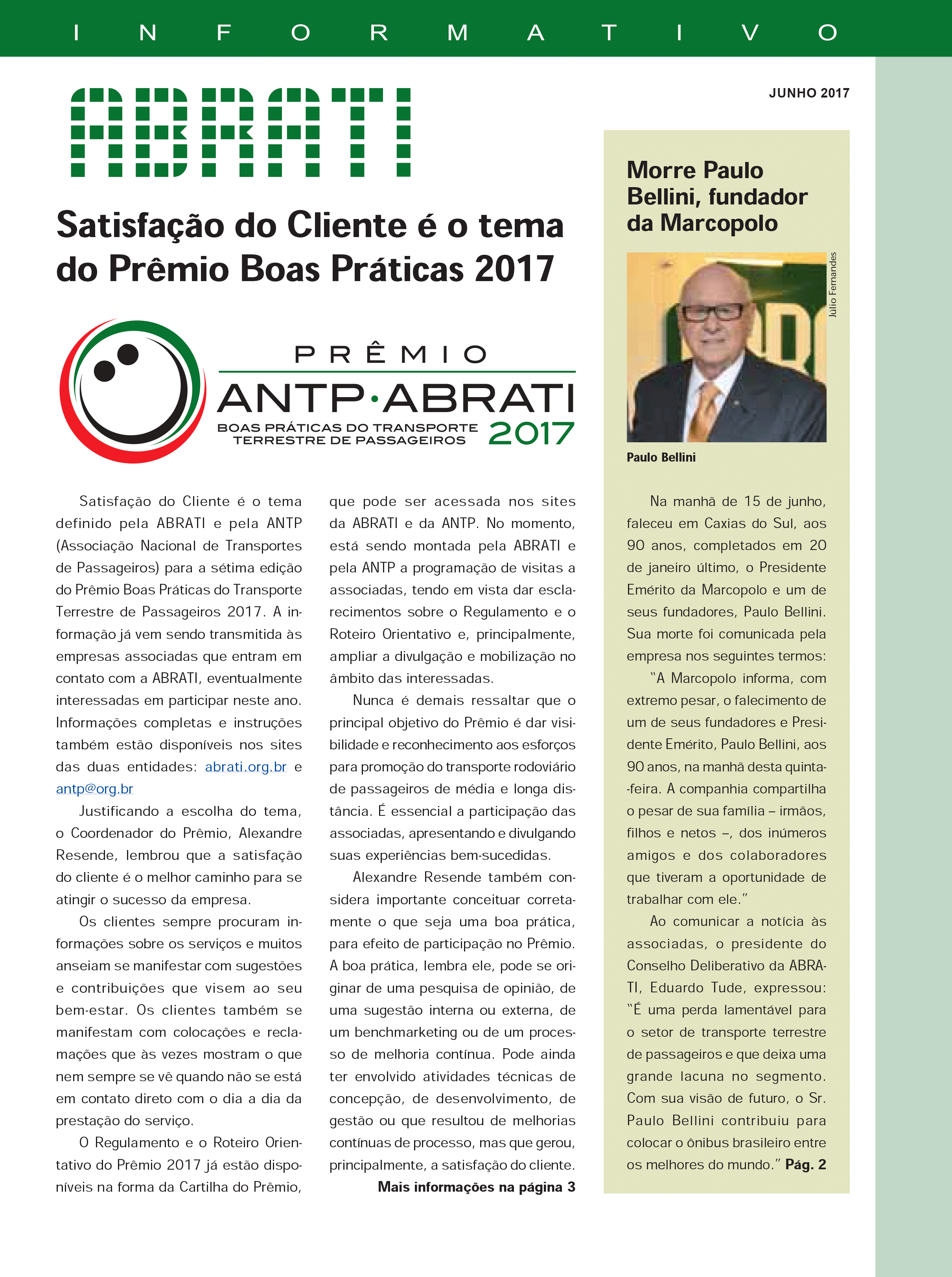 Informativo Junho 2017