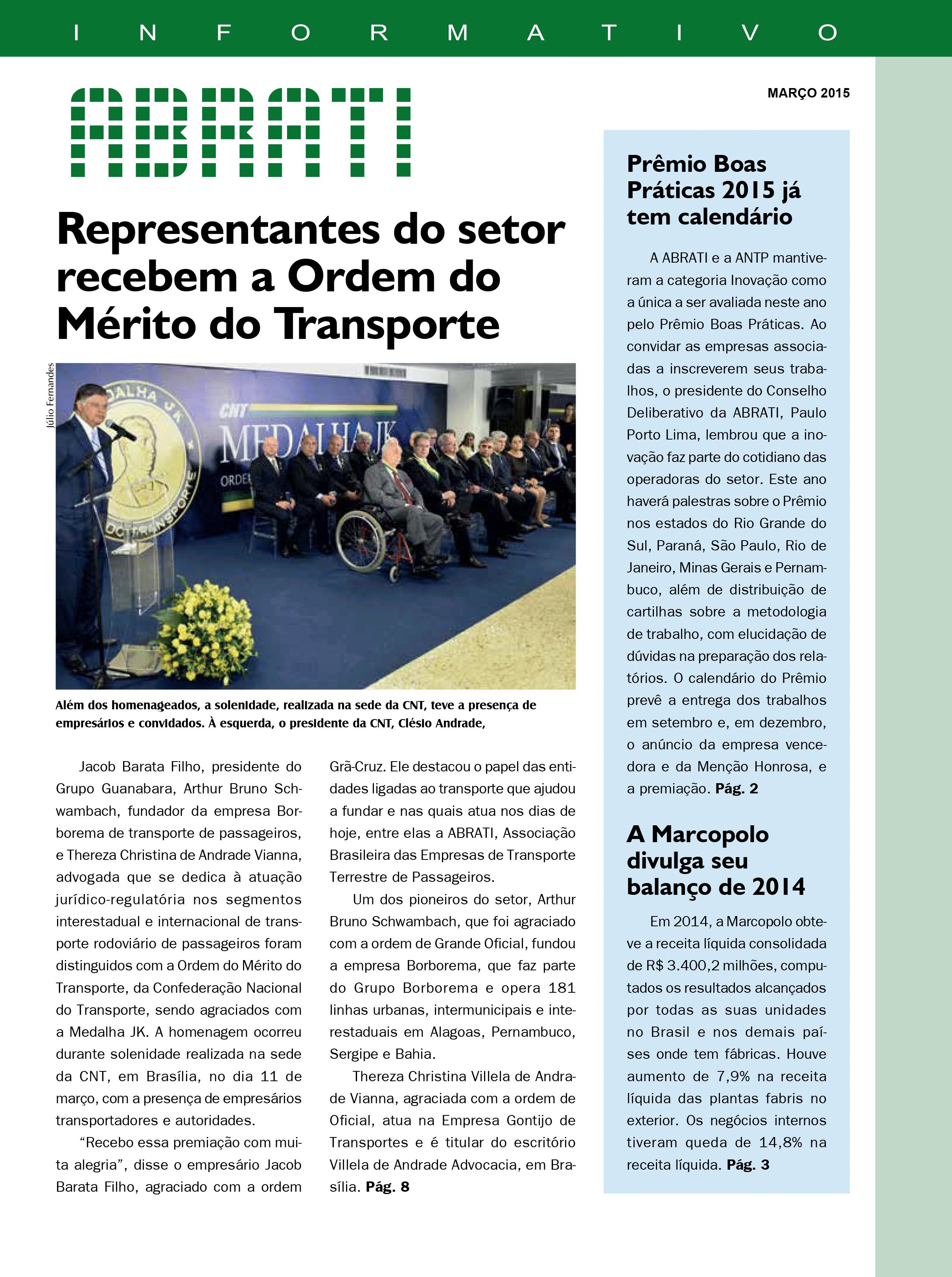 Informativo Março 2015